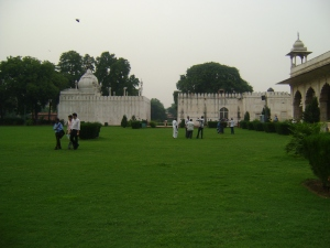 Here is the where the Mughal rulers used to have lions fight elephants as entertainment.